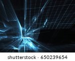 computer generated abstract...   Shutterstock . vector #650239654
