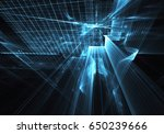 computer generated abstract... | Shutterstock . vector #650239666
