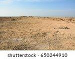 Deserted Landscape In Qatar ...