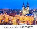 prague  czech republic.... | Shutterstock . vector #650250178