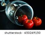 barbados cherry ripe thai... | Shutterstock . vector #650269150