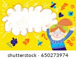 vector hand drawn illustration... | Shutterstock .eps vector #650273974