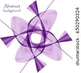 abstract purple flower | Shutterstock .eps vector #650290324