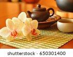 Chinese Tea Ceremony. Antique...