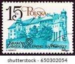 poland   circa 1984  a stamp... | Shutterstock . vector #650302054