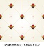 vector vintage decor  ornate... | Shutterstock .eps vector #650315410