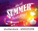 summer. | Shutterstock .eps vector #650325298