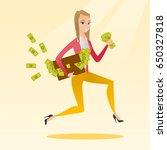 caucasian business woman... | Shutterstock .eps vector #650327818