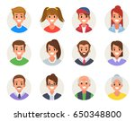 males and females different... | Shutterstock .eps vector #650348800