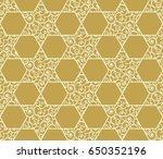 elegant seamless pattern with... | Shutterstock .eps vector #650352196