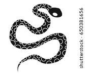 Python Snake Icon. Simple...