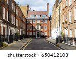 typical street scene in the... | Shutterstock . vector #650412103