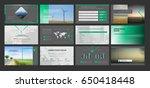 original presentation templates.... | Shutterstock .eps vector #650418448