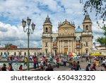 guatemala city  guatemala   ... | Shutterstock . vector #650432320