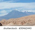 licancabur is a volcano located ...   Shutterstock . vector #650462443