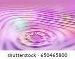 colorful ripple background | Shutterstock . vector #650465800