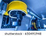 air purification in production. ... | Shutterstock . vector #650491948