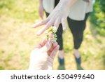 ring exchange | Shutterstock . vector #650499640