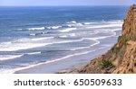 ocean views in southern... | Shutterstock . vector #650509633