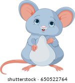 illustration of cute mice | Shutterstock .eps vector #650522764