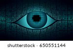 big brother electronic eye... | Shutterstock .eps vector #650551144