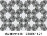 raster illustration. vintage... | Shutterstock . vector #650564629