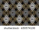 raster illustration. royal... | Shutterstock . vector #650574130