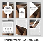 abstract vector layout...   Shutterstock .eps vector #650582938