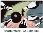 vector stock illustration.... | Shutterstock .eps vector #650585683
