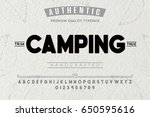 font.alphabet.script.typeface... | Shutterstock .eps vector #650595616
