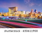 durham  north carolina  usa... | Shutterstock . vector #650611900