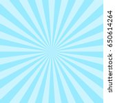 sun ray background blue two...   Shutterstock .eps vector #650614264