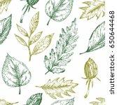 decorative seamless pattern...   Shutterstock .eps vector #650644468