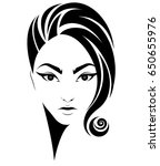 illustration of women short... | Shutterstock .eps vector #650655976