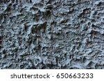 texture of grey cement plaster | Shutterstock . vector #650663233