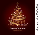 holiday tree | Shutterstock .eps vector #65066710
