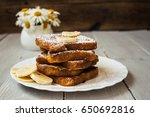 French Toast With Banana And...
