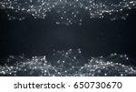 sci fi network shape. computer... | Shutterstock . vector #650730670