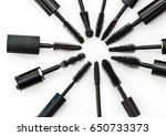 collection of a mascara brushes ...   Shutterstock . vector #650733373