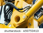 hydraulics pipes and nozzles ... | Shutterstock . vector #650753413
