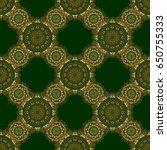 vector seamless elements for... | Shutterstock .eps vector #650755333