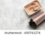 sport diet nutrition and...   Shutterstock . vector #650761276