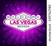 las vegas casino sign.casino... | Shutterstock .eps vector #650762980