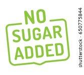 no sugar added badge  logo ...
