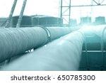 oil pipeline | Shutterstock . vector #650785300