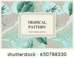 wild vector banner with... | Shutterstock .eps vector #650788330