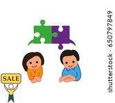 group of people icon  friends... | Shutterstock .eps vector #650797849