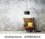 modern interior room with nice... | Shutterstock . vector #650804614