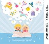 magical world concept.... | Shutterstock .eps vector #650831263