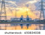 gas power plant | Shutterstock . vector #650834038